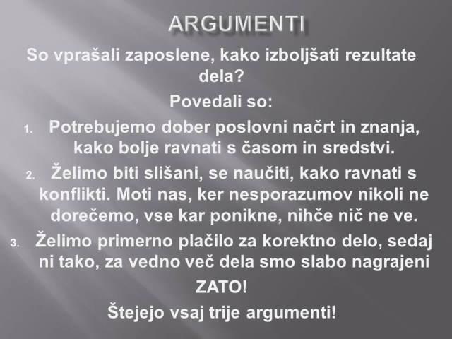 moč argumenta